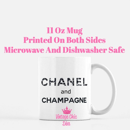 Chanel Quote5 Coffee Mug-