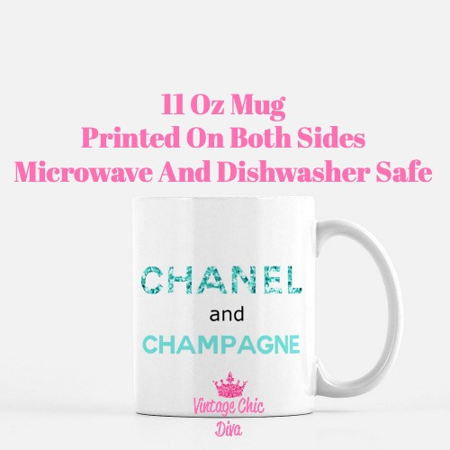 Chanel Quote6 Coffee Mug-