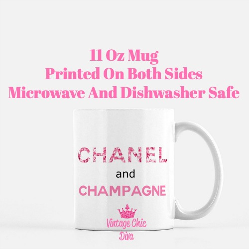 Chanel Quote7 Coffee Mug-