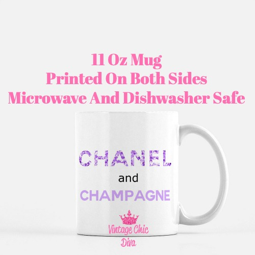 Chanel Quote8 Coffee Mug-
