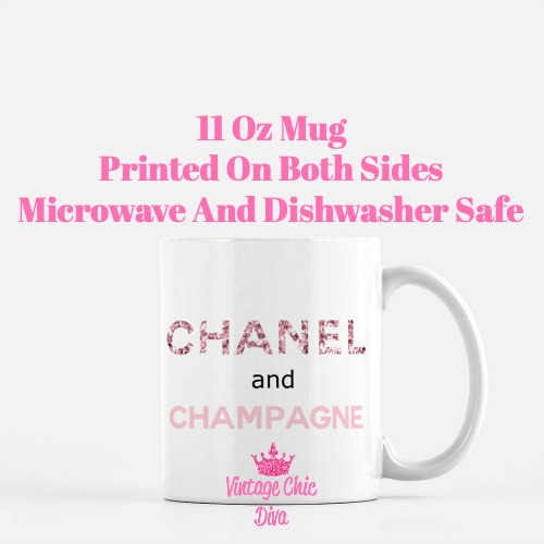 Chanel Quote9 Coffee Mug-