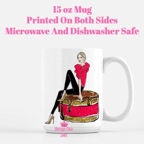Chocolate Girl2 Coffee Mug-