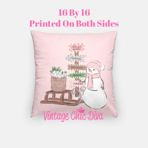 Christmas Set2 Pillow Case-