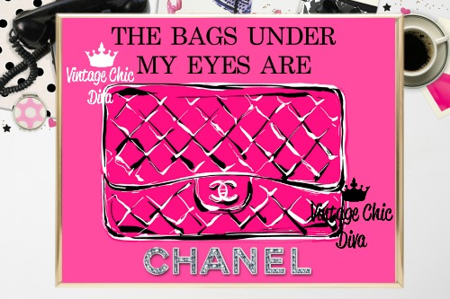 Coco Chanel Quote10 Pink Background-