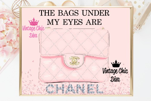 Coco Chanel Quote11 Pink Diamonds Background-