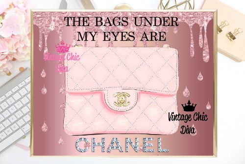 Coco Chanel Quote11 Pink Liquid Glitter Background-
