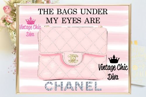 Coco Chanel Quote11 Pink White Stripe Background-