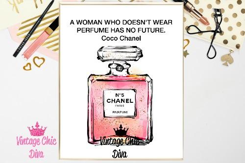 Coco Chanel Quote4 White Background-