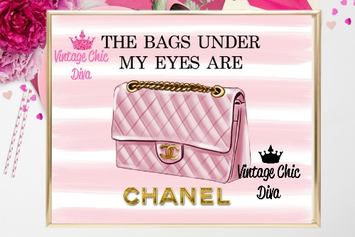 Coco Chanel Quote6 Pink White Background-