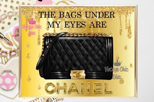 Coco Chanel Quote7 Gold Glitter Drip Background-