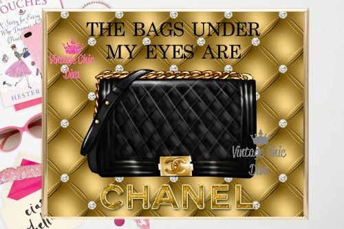 Coco Chanel Quote7 Gold Tufted Background-