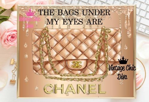 Coco Chanel Quote8 Liquid Glitter Background-