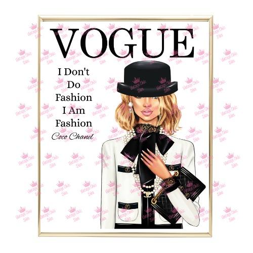 Coco Magazine Girl10 Wh Bg-