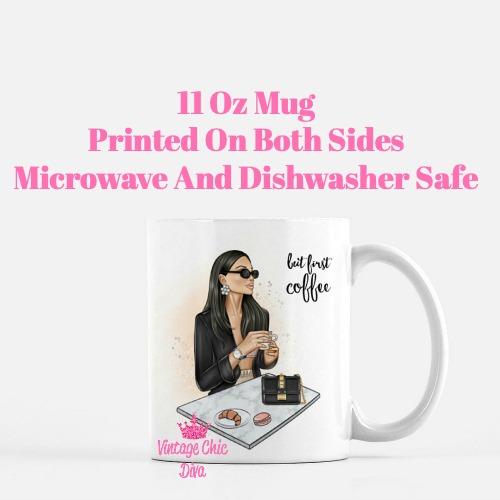 Coffee Girl1 Coffee Mug-