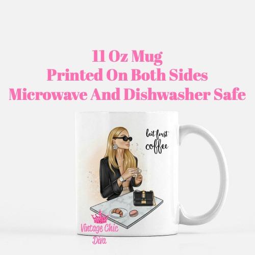 Coffee Girl2 Coffee Mug-