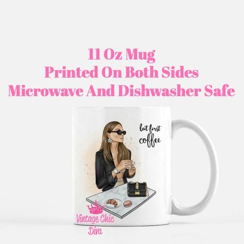 Coffee Girl3 Coffee Mug-