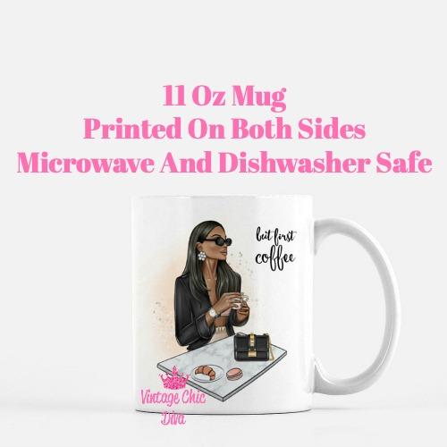 Coffee Girl4 Coffee Mug-