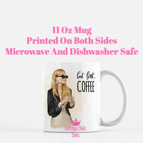 Coffee Girl6 Coffee Mug-