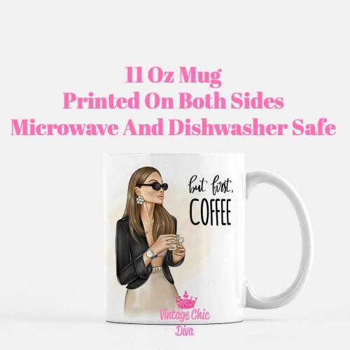 Coffee Girl7 Coffee Mug-