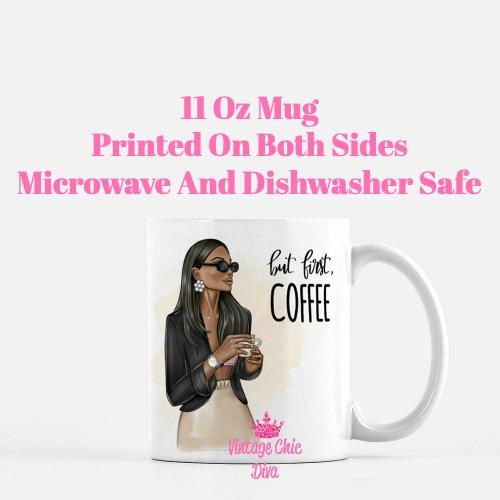 Coffee Girl8 Coffee Mug-