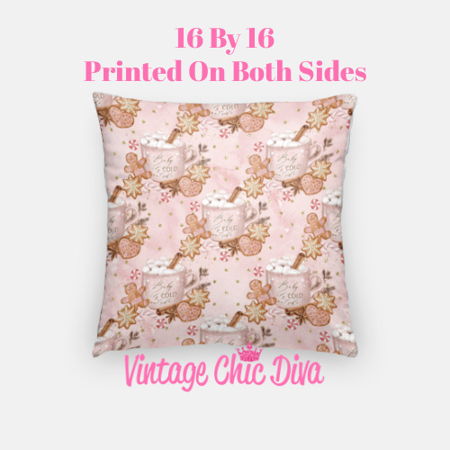 Cold Outside16 Pillow Case-