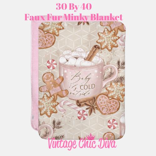 Cold Outside6 Blanket-