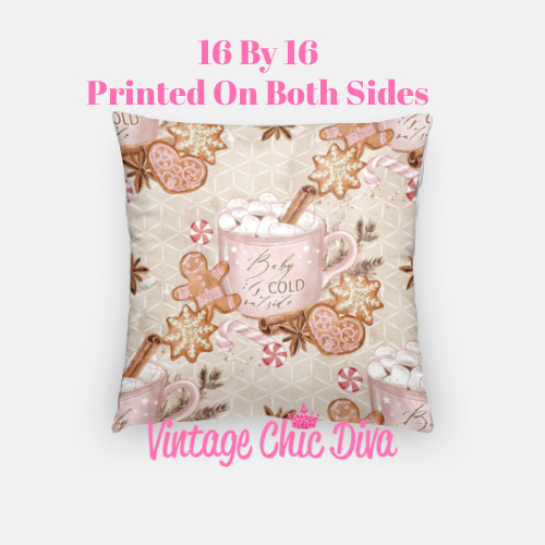 Cold Outside6 Pillow Case-