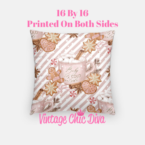 Cold Outside7 Pillow Case-