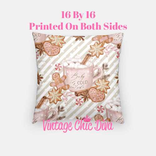 Cold Outside8 Pillow Case-
