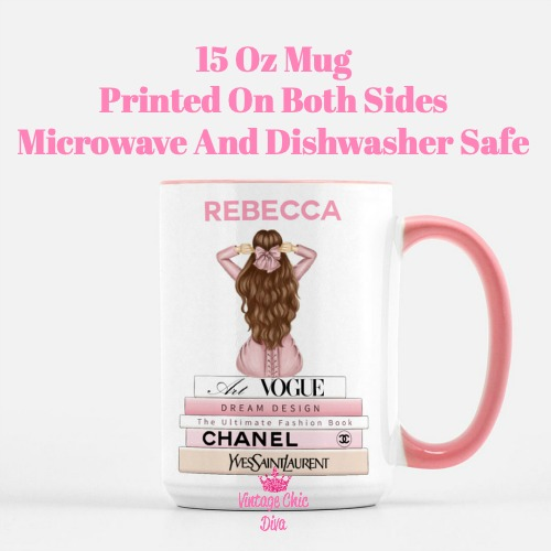 Custom Coffee Mug Kristin-
