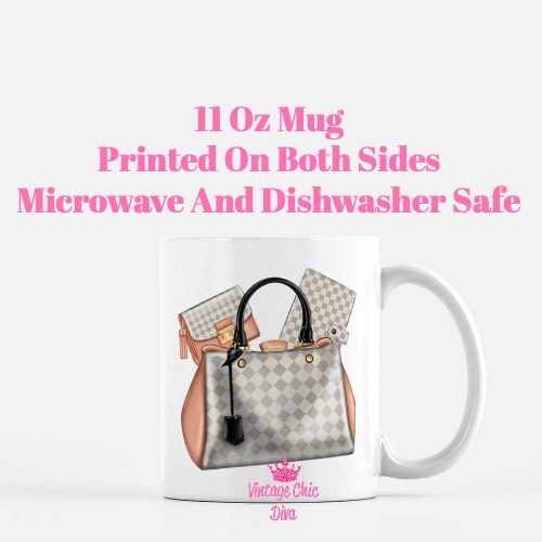Designer Handbag Set12 Coffee Mug-