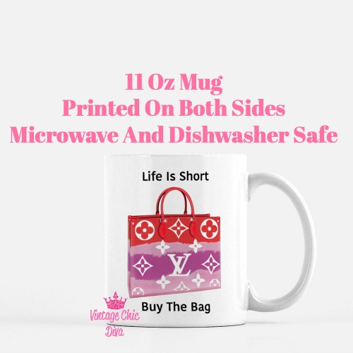 Designer Handbag Set2 Coffee Mug-