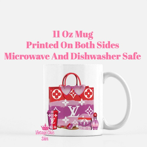 Designer Handbag Set6 Coffee Mug-