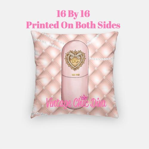 Designer Pill18 Pillow Case-