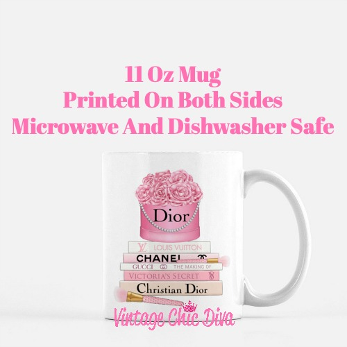 Dior Flower Box Book Set7 Coffee Mug-