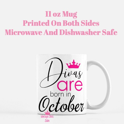 Divas Are Born10 Coffee Mug-