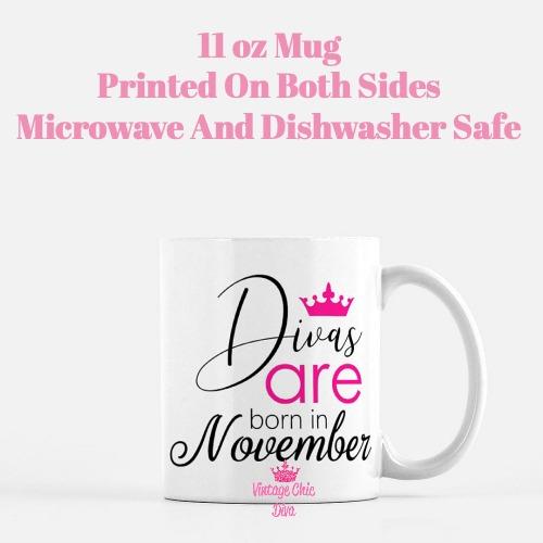 Divas Are Born11 Coffee Mug-