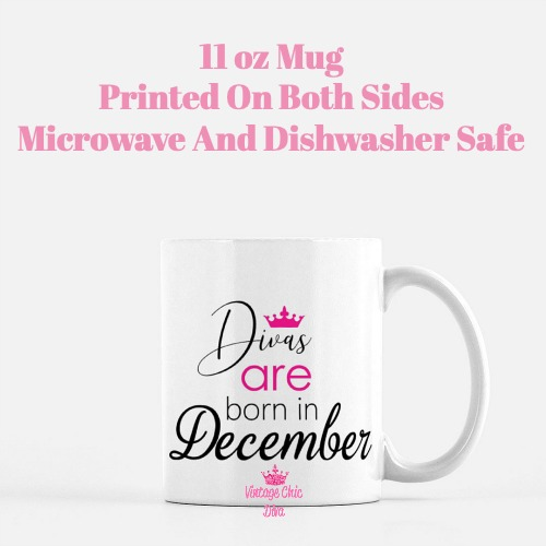 Divas Are Born12 Coffee Mug-