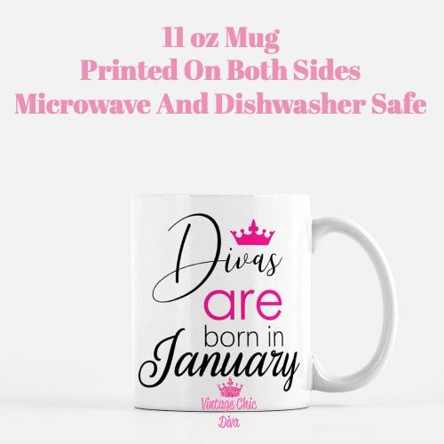 Divas Are Born1 Coffee Mug-