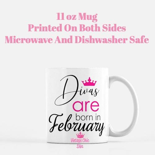 Divas Are Born2 Coffee Mug-
