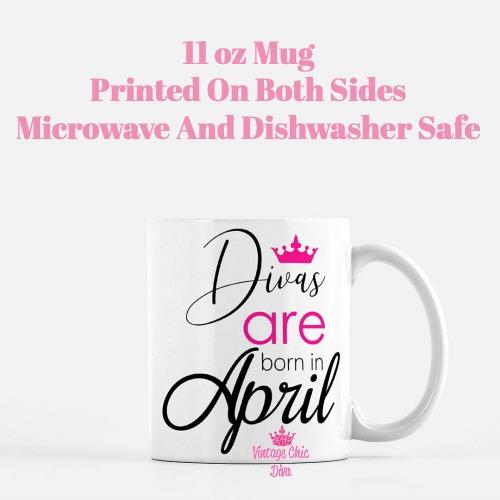 Divas Are Born4 Coffee Mug-