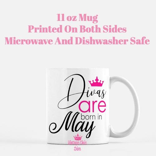 Divas Are Born5 Coffee Mug-