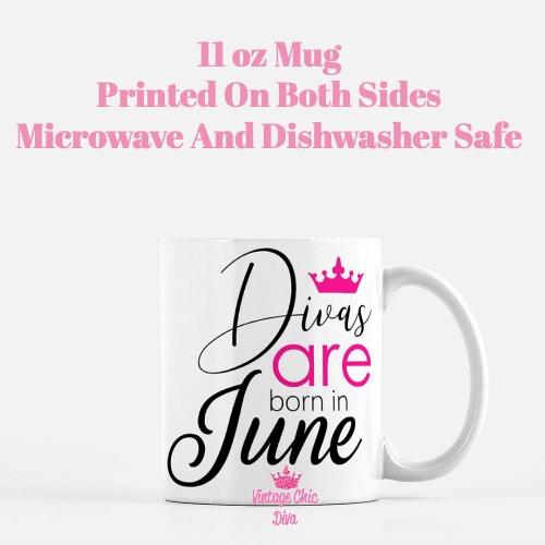 Divas Are Born6 Coffee Mug-