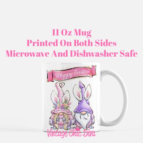 Easter Gnomes2 Coffee Mug-