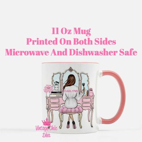Custom Coffee Mug Elizabeth-