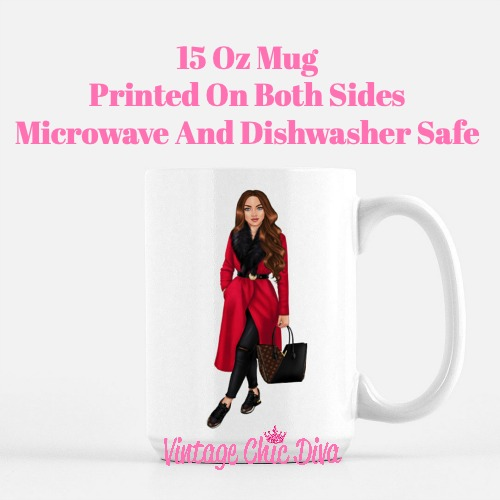 Fall Fashion Girl10 Coffee Mug-