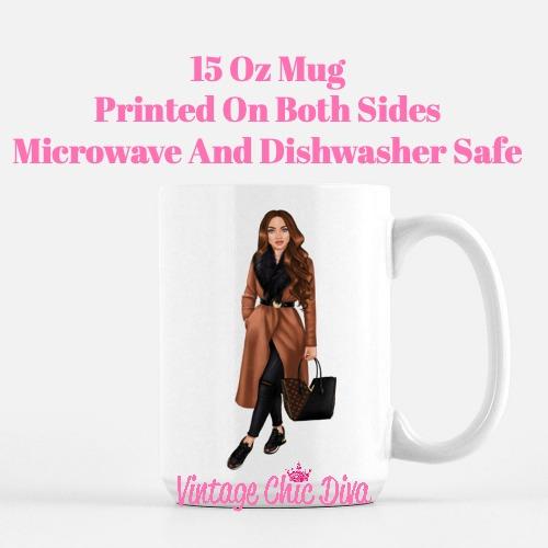 Fall Fashion Girl12 Coffee Mug-