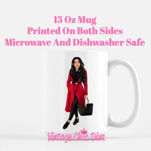 Fall Fashion Girl13 Coffee Mug-
