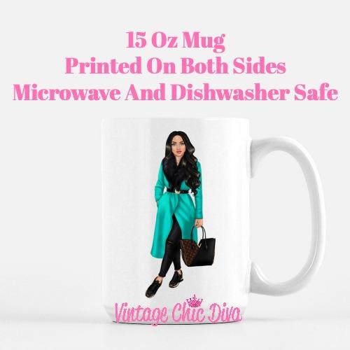 Fall Fashion Girl14 Coffee Mug-