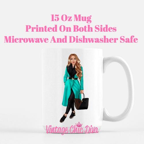 Fall Fashion Girl17 Coffee Mug-
